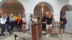 Třídní výlet a odborná exkurze vPraze studentů OA2
