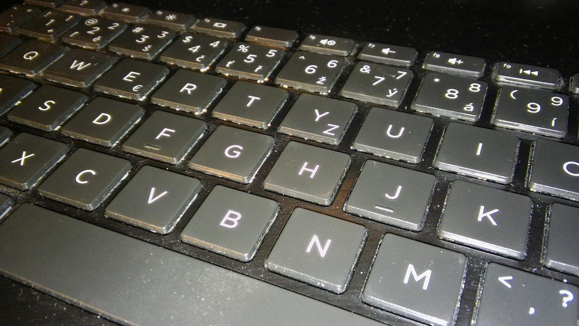 Státní zkouška zpsaní na klávesnici