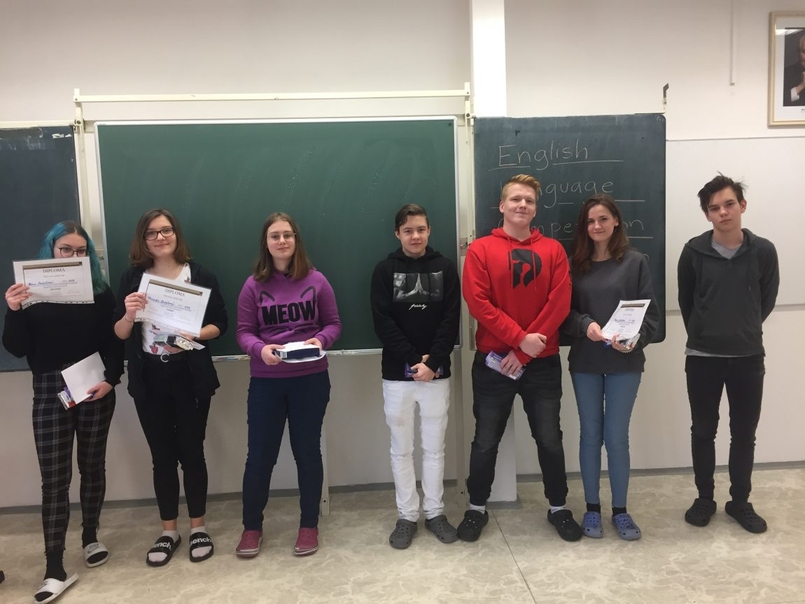 Competition in English Language – School Round